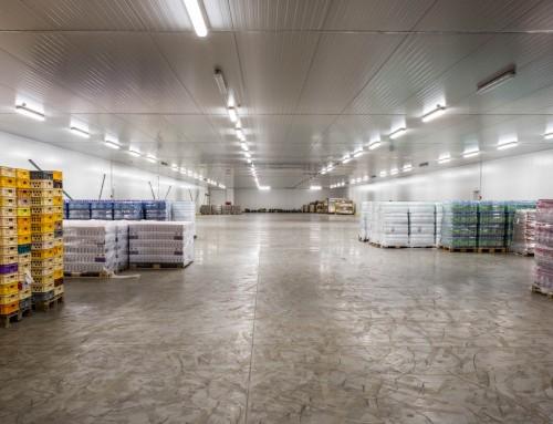Chladírenské haly LLENTAB jsou úspěšné i na náročném českém trhu