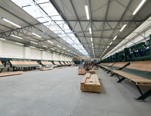Nová pilnice MATRIX zahájila v říjnu zkušební provoz